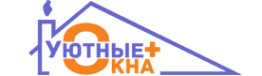 Логотип компании Уютные Окна Плюс